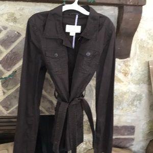 JCrew Classic twill chino jacket size Large